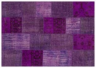PATCHWORK SBT PURPLE 170x240cm 4.08m2 PATCHWORK HALI