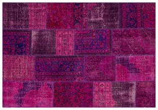 PATCHWORK SBT2 PURPLE 170x240cm 4.08m2 PATCHWORK HALI