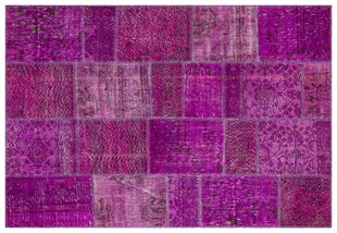 PATCHWORK SBT3 PURPLE 170x240cm 4.08m2 PATCHWORK HALI