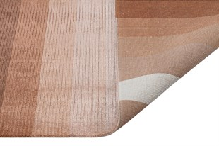 RUGLOOM 225 BEIGE/BROWN EL DOKUMA HALI